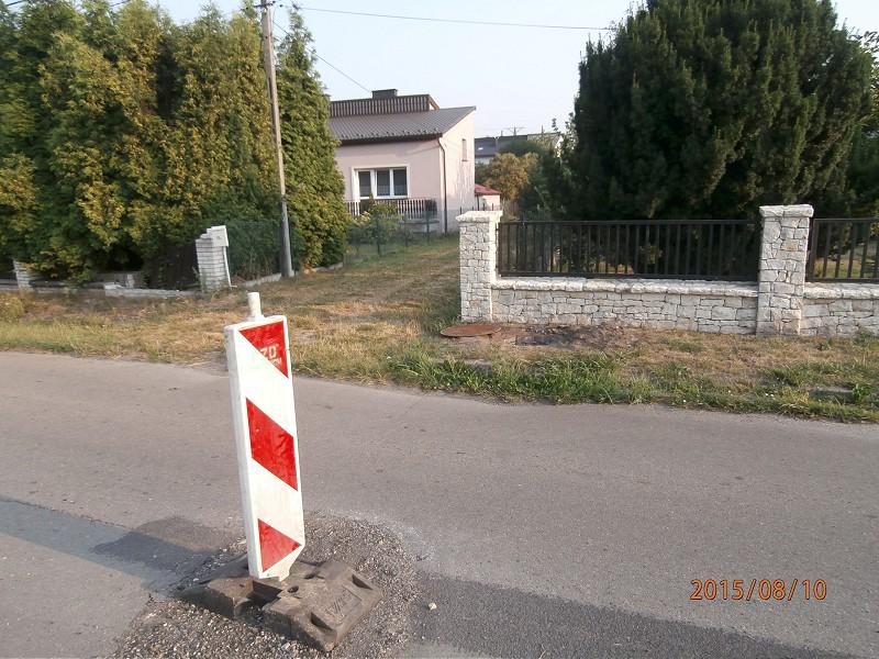 Ul. Jazdówki wLbiążu